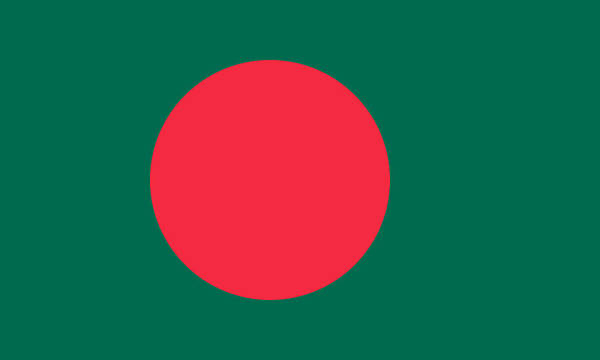 Bangladesh Painting - Bangladesh by Flags