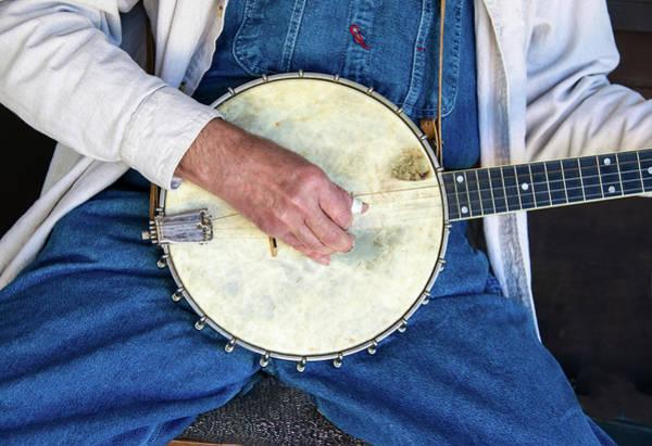 Photograph - Banjo Man Hand by Gary Slawsky