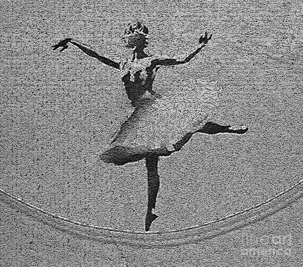 Streetart Mixed Media - Banksy Ballerina by Streetart