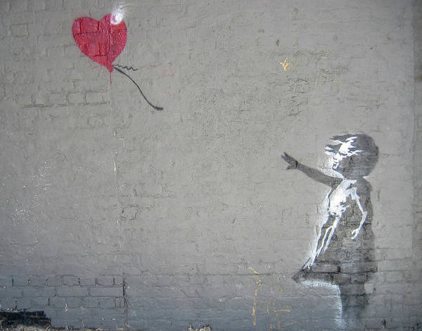 Photograph - Banksy Girl With Balloon by Gigi Ebert