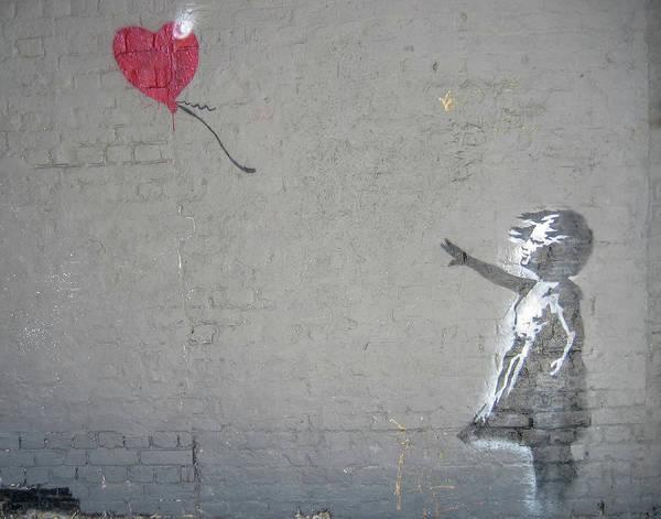 Photograph - Banksy Girl With Balloon by Gigi Ebert