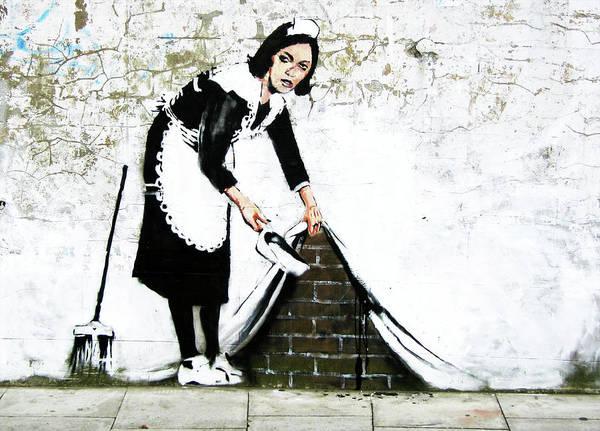 Photograph - Banksy Maid by David Resnikoff