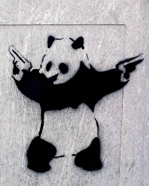 Photograph - Banksy Panda by Gigi Ebert