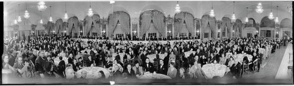 Wall Art - Photograph - Banquet, American Jewish Congress by Fred Schutz Collection