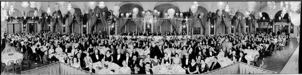 Wall Art - Photograph - Banquet, Annual Convention The United by Fred Schutz Collection