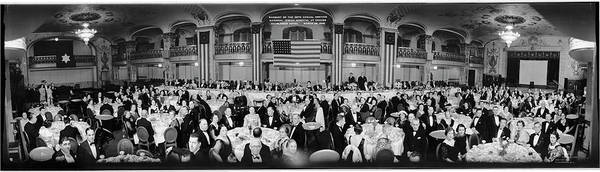 Washington Capitals Photograph - Banquet Of The 36th Annual Meeting by Fred Schutz Collection