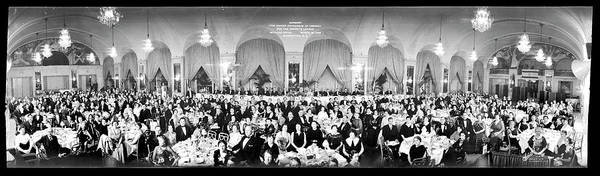 Wall Art - Photograph - Banquet, The United Synagogue by Fred Schutz Collection