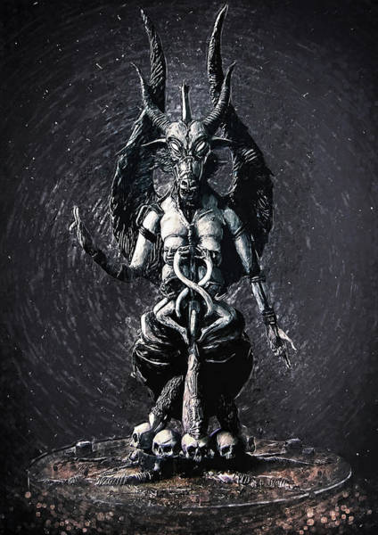 Wall Art - Digital Art - Baphomet by Zapista Zapista