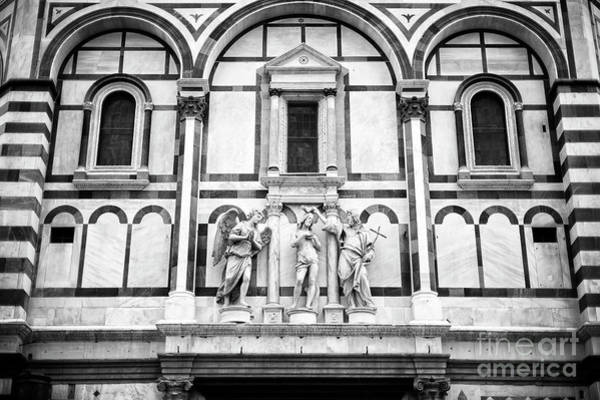 Photograph - Baptism Of Christ At The Battistero Di San Giovanni In Florence by John Rizzuto