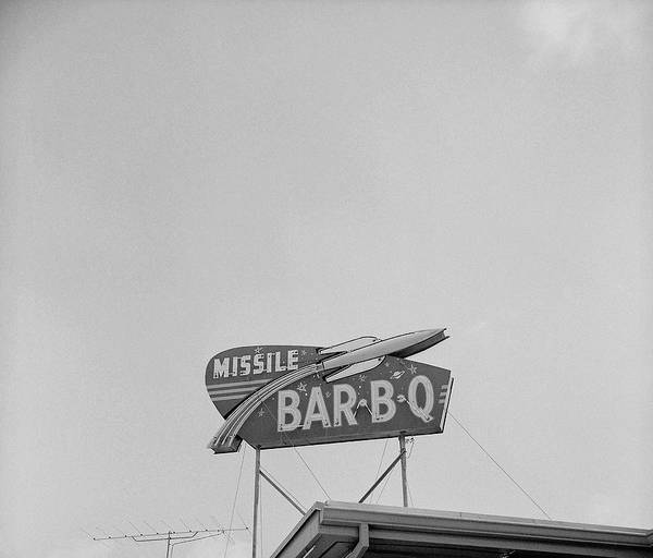 1958 Photograph - Bar B Q by Keystone Features