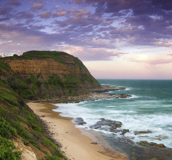 New South Wales Photograph - Bar Beach Headland by Image