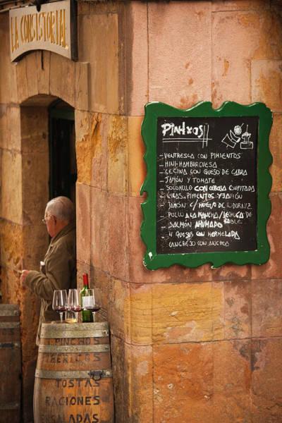 Bar Photograph - Bar Exterior, Oviedo, Asturias by Danita Delimont