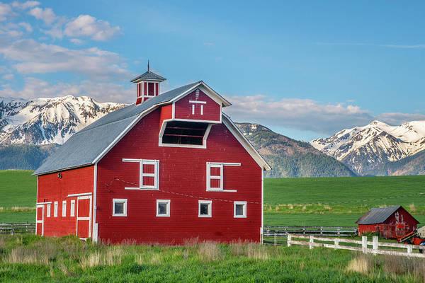 Photograph - Bar T Ranch Barn by Matthew Irvin