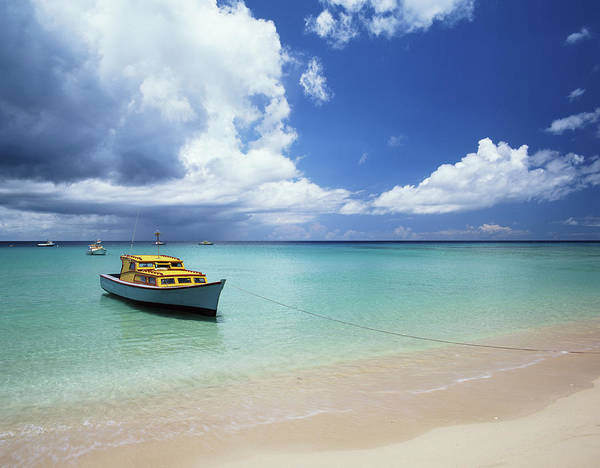 Barbados Photograph - Barbados, Speightstown, Fishing Boat by Kathy Collins