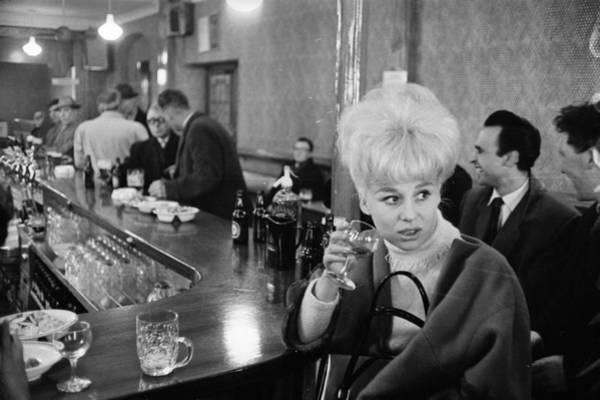Photograph - Barbara At The Bar by Reg Lancaster