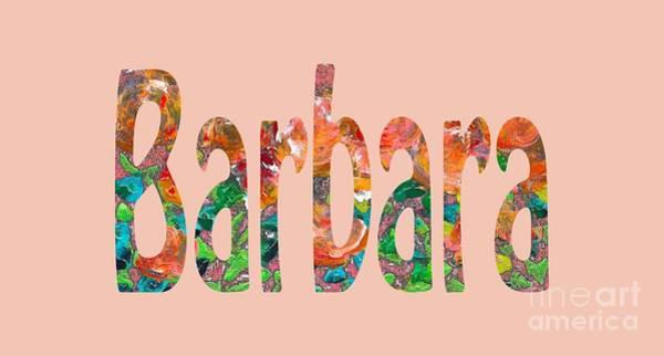 Digital Art - Barbara by Corinne Carroll