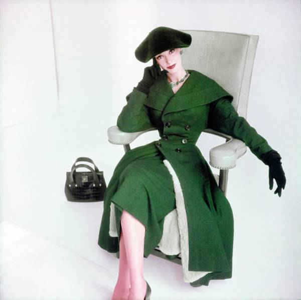 Red Cross Photograph - Barbara Mullen In Sophie Originals by Horst P. Horst