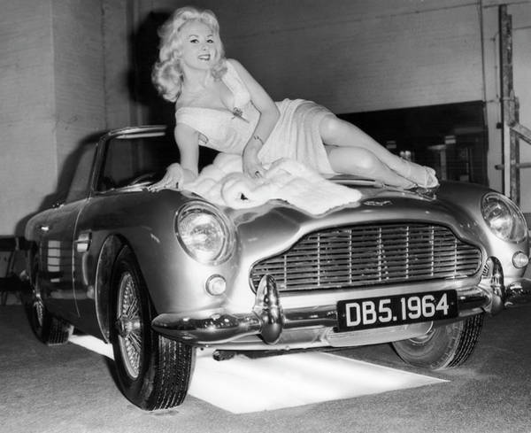 Photograph - Barbara Roscoe Presents The Aston by Keystone-france