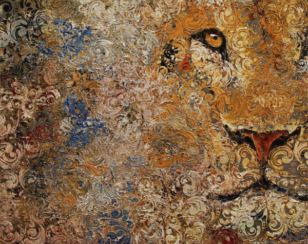 Wall Art - Painting - Barbary Lion by Michael Creese