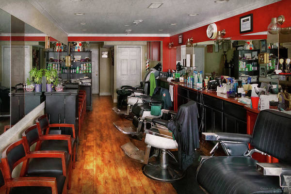 Photograph - Barber - Fit To Be Dyed by Mike Savad