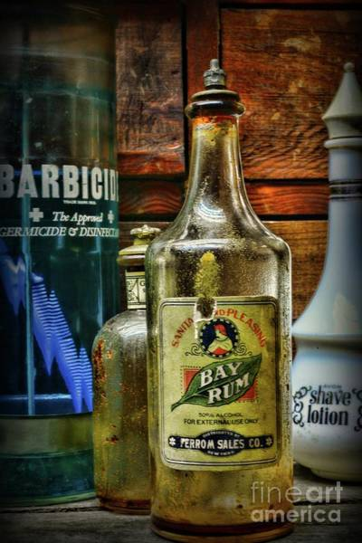 Wall Art - Photograph - Barber-vintage Bay Rum Aftershave by Paul Ward