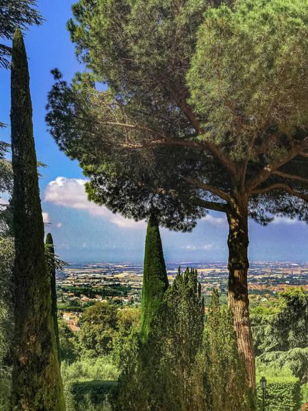 Apostolic Palace Photograph - Barberini View by Joseph Yarbrough