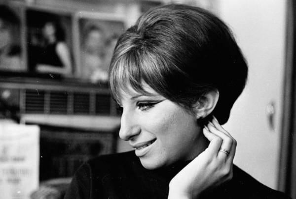 Headshot Photograph - Barbra Streisand by Harry Benson