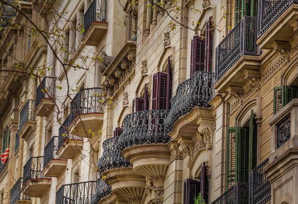 Wall Art - Photograph - Barcelon Windows 5 by Murray Pellowe