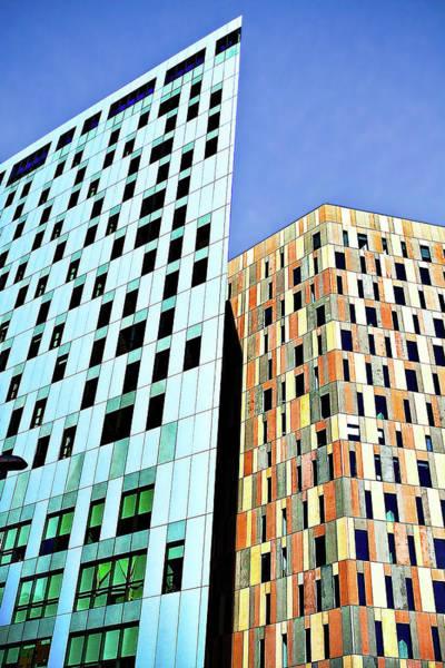 Photograph - Barcelona Buildings Abstract by Robert FERD Frank