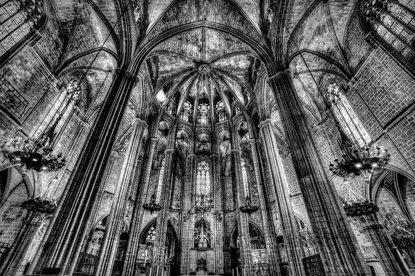 Wall Art - Photograph - Barcelona City Cathedral by David Pyatt