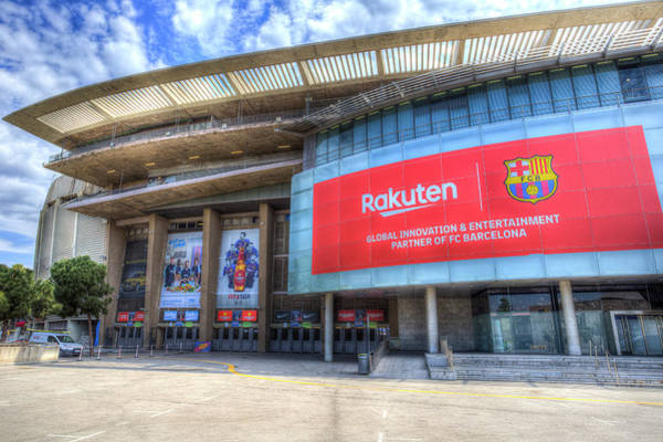 Wall Art - Photograph - Barcelona Nou Camp Stadium by David Pyatt