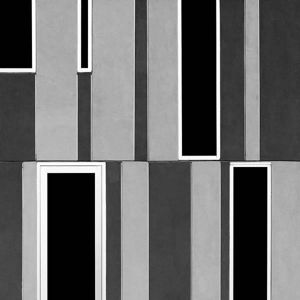 Photograph - Barcode Facade by Stuart Allen