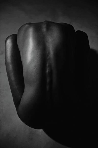 Beautiful People Photograph - Bare Back Of A Beautiful Woman by Win-initiative