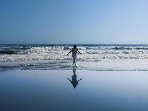 Kamakura Wall Art - Photograph - Bare Feet On The Beach by Taketan