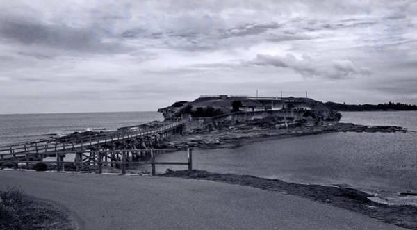 Wall Art - Photograph - Bare Island In Black And White by Miroslava Jurcik