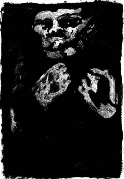 Digital Art - Bare Knuckle Boxer Dark Night by Artist Dot