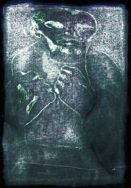 Digital Art - Bare Knuckle Boxer White Stain by Artist Dot