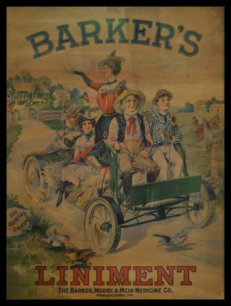 Photograph - Barkers Liniment by Chris Flees