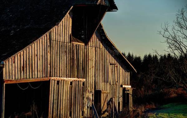 Photograph - Barn Doors Open by Jerry Sodorff