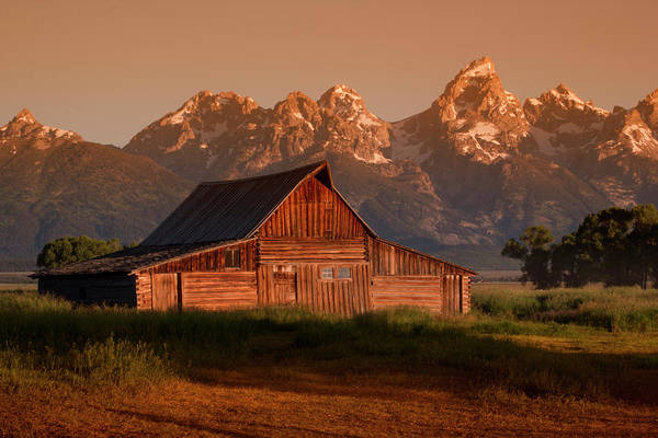 Photograph - Barn - Grand Tetons National Park by Rick Veldman