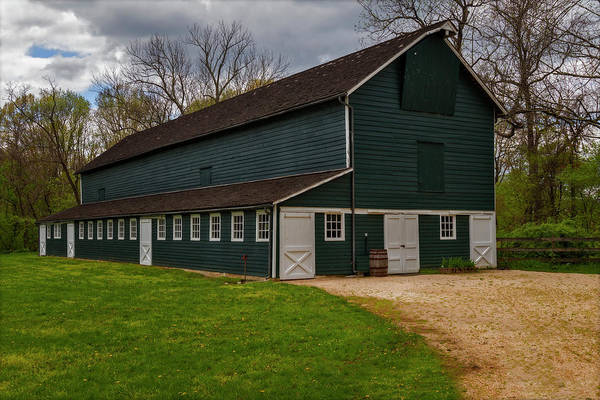 Photograph - Barn House  by Susan Candelario