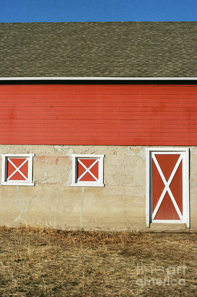Photograph - Barn Lines by Ana V Ramirez