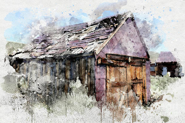 Photograph - Barn by Mark Jackson