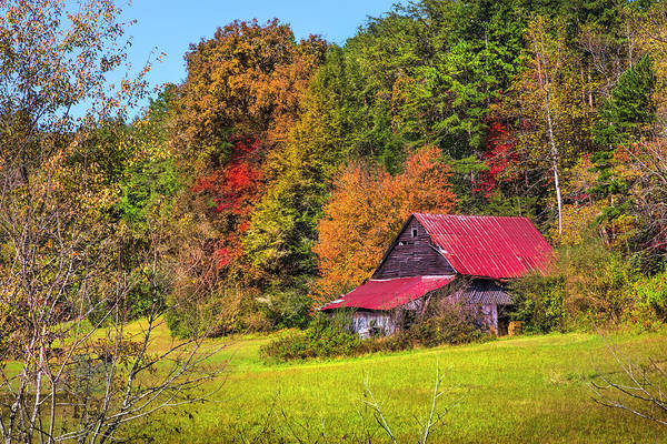 Photograph - Barn On The Border by Debra and Dave Vanderlaan