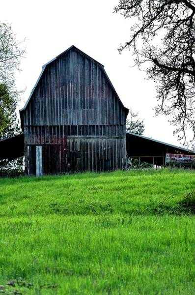 Photograph - Barn On The Hill by Jerry Sodorff