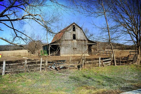 Photograph - Barn West Of Washington Missouri by Marty Koch