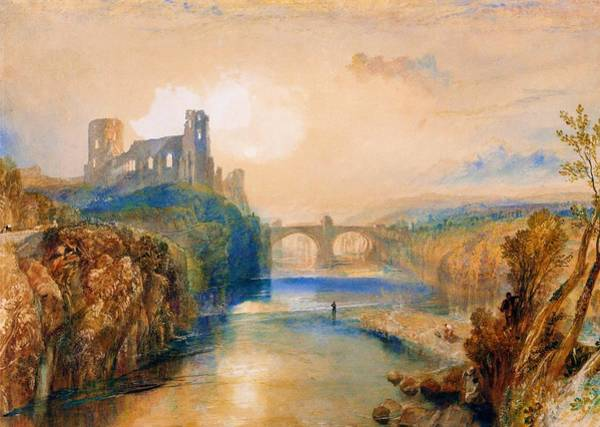Wall Art - Painting - Barnard Castle - Digital Remastered Edition by William Turner