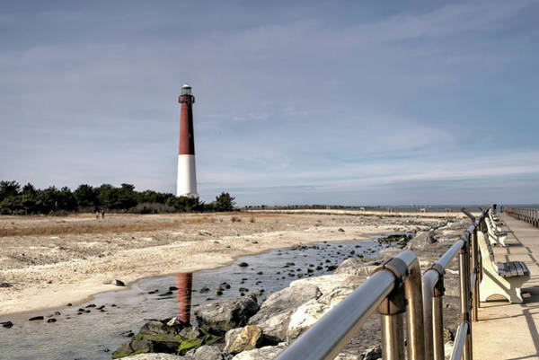 Wall Art - Photograph - Barnegat Lighthouse And Boardwalk by Geraldine Scull