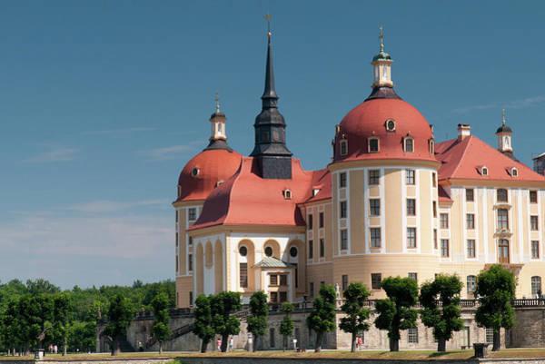 Famous People Photograph - Baroque Moritzburg Castle by Richard Nebesky