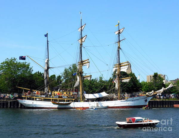 Photograph - Barque Picton Castle Tall Ship Buffalo Ny 2019 by Rose Santuci-Sofranko